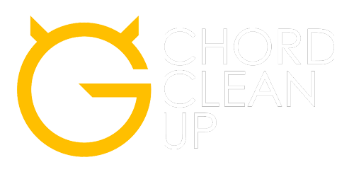 ultimate guitar chord clean up